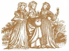 Borbarátnők az Oroszlános Borvendéglőben