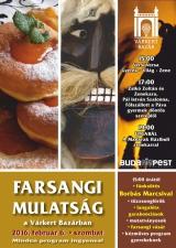 Farsangi Mulatság a Várkert Bazárban