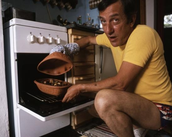 1980: Antal Imre római tálban süt