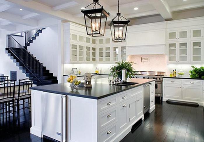 A túl fehér konyhák kimentek a divatból