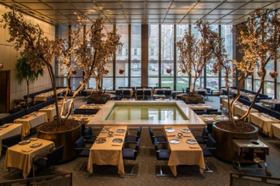 A New York-i Four Seasons belső tere