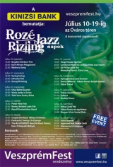 Rozé, rizling és jazz napok Veszprémben